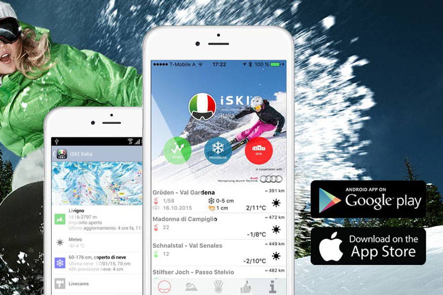 Mobilní Aplikace ISKI Italia