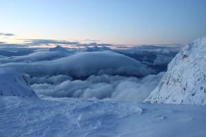 Inverze Nad Střediskem Paganella Ski