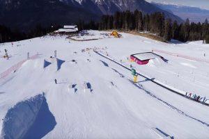 Snowpark Dosson Paganella Ski