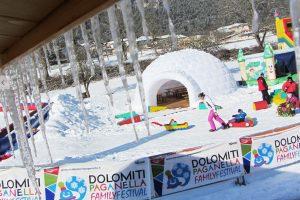 Dětský Fun Park V Areálu Paganella Ski